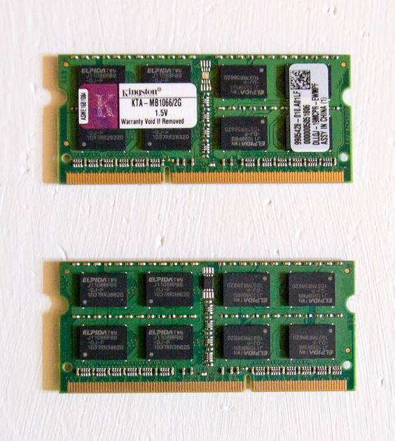 Kingston Apple RAM 2 * 2GB    KTA-MB1066/2G   4GB KIT Mac Macbook Mini