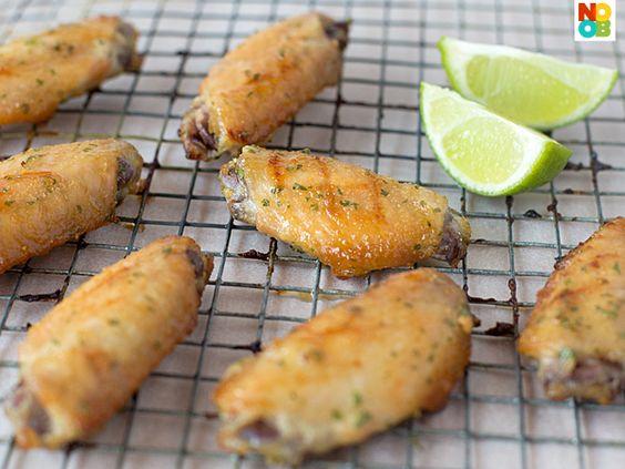 Dijon Honey Chicken Wings Recipe