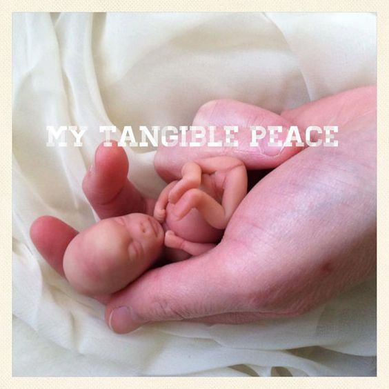 11 week baby Memorial/Honor Sculpture Made to by mytangiblepeace