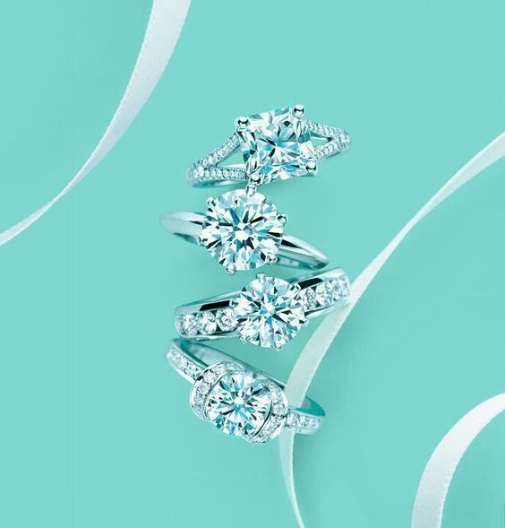 tiffany jewelry for women jewelry for love jewelry Charm bracelet #tiffany - not this exact one of course #jewelry #jewellery Tiffany diamond rings, I'm not saying yes unless it's from Tiffany's!