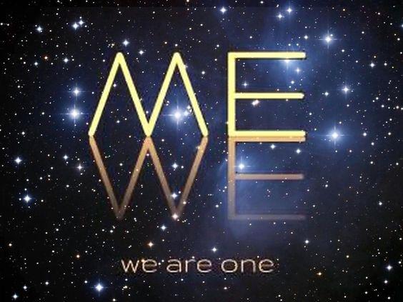 Du, ich, wir alle und der Kosmos sind 1