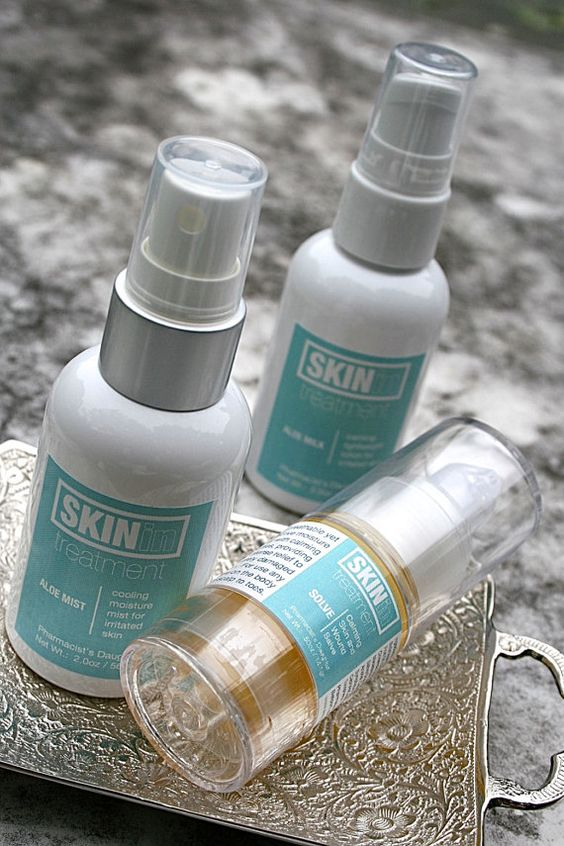 3 pc Radiation Calming Skin Set by SkininTreatment on Etsy