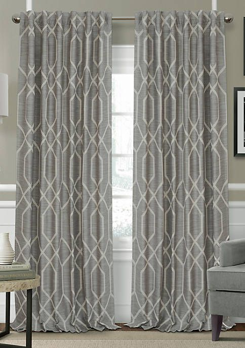 Elrene Devin Single Window Panel Window Panels Blue Window Panels Drapes Curtains