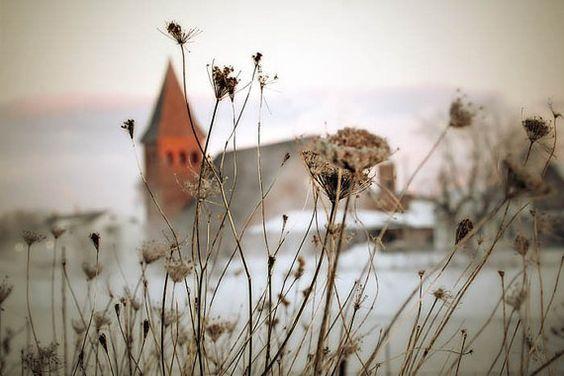 Church photograph, winter print by judeMcConkeyPhotos
