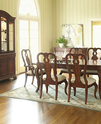 Bordeaux Louis Philippe-Style Dining Room Furniture Collection ...