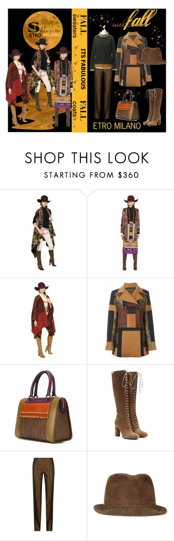 """""""Welcome Fall With ETRO Milano"""" by lolly-p ❤ liked on Polyvore featuring Etro"""
