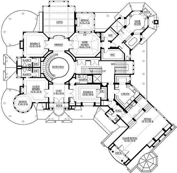 Plan 23222jd grand estate home with lots of extras for Luxury craftsman home plans