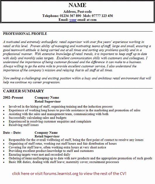 27 Key Holder Job Description Resume In 2020 Resume Objective Examples Key Holder Job Retail Resume Examples