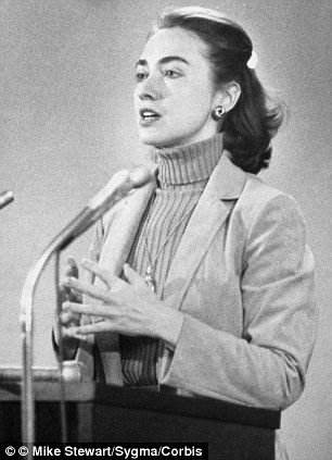 Controversial: Hillary Clinton (pictured here in 1980) gave a 5-hour interview to an Arkan...