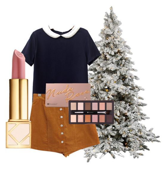 """""""Private school prep"""" by stars101 on Polyvore featuring Chicnova Fashion and Tory Burch"""