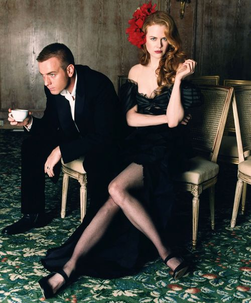 Ewan McGregor & Nicole Kidman, Moulin rouge (2001) cast