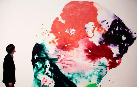 """""""Berlin Red"""" di Sam Francis"""