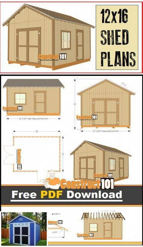 Storage Shed Plans Build Your Dream Shed Shedplans