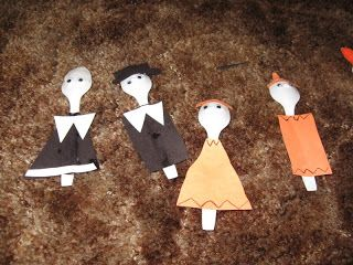 Special Connection Homeschool: Easy Thanksgiving Crafts