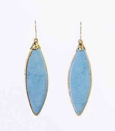 Peacock Blue Earrings - Elephant Heart Jewelry