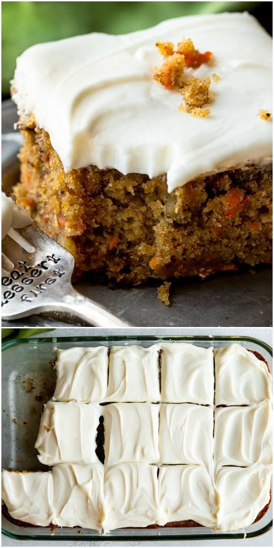 The Best Carrot Cake Recipe Is This Pineapple Carrot Cake With Cream Cheese Frosting Moist Spiced And So Easy Carrot Cake Recipe Best Carrot Cake Desserts