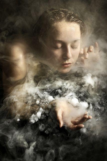 ... Y el espíritu se movía sobre la faz de las aguas por PhotoArt de Stephen