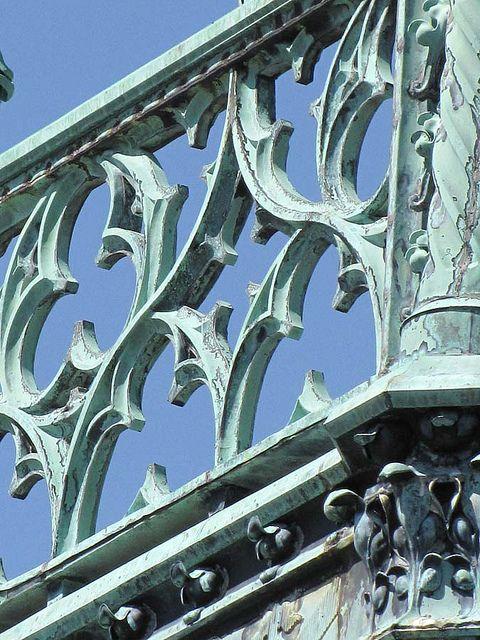 Rooftop,  Biltmore Estate > Asheville > North Carolina.  medievalmuse, via Flickr
