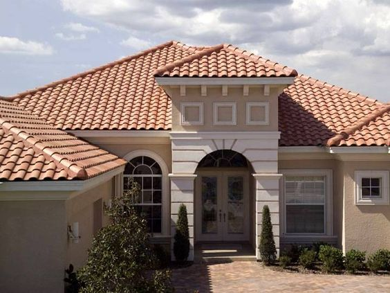 Capistrano 3118 Terracotta Gold Not All Colors Are Available In All Regions Please Visit Our Website For Terracotta Roof House House Paint Exterior House Roof