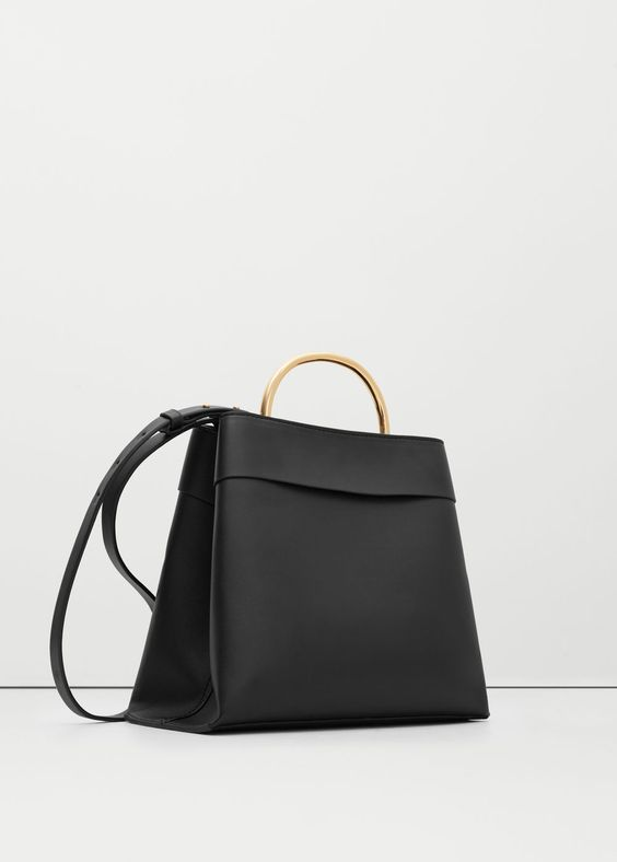 SHOP A/W 16: This bag looks a but Stella McCartney to me with its metal handle.