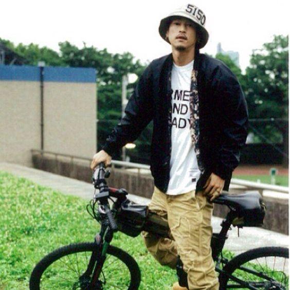 窪塚洋介の自転車