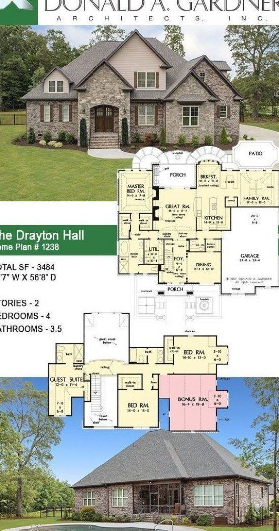 Pin By Ellie Me Allmand On My Pins In 2020 House Plans Dream House Plans Hall House