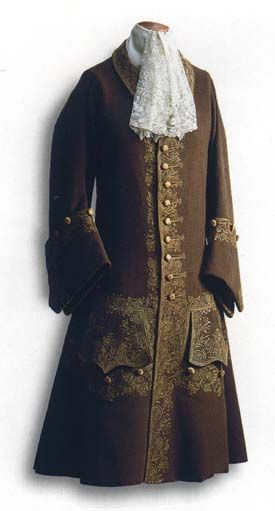Costume of Peter the Great 1710-1720