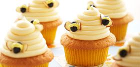 The Bliss Journey: Bee hive cupcakes inspired