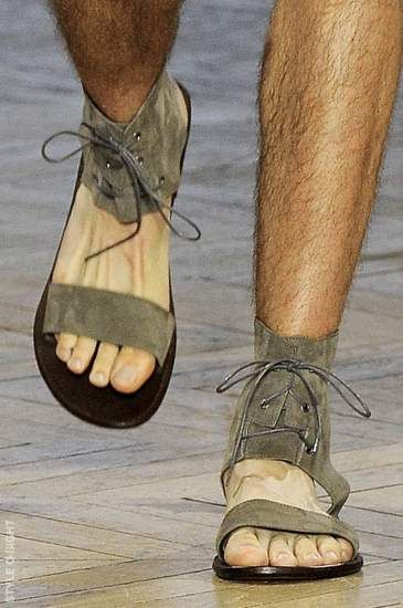 christian louboutin mens gladiator sandals