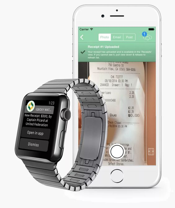 Apple watch, Watches and App on Pinterest - free receipts online
