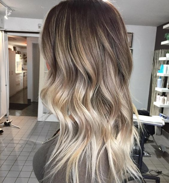 90 balayage hair color ideas with blonde brown and - Color beige oscuro ...