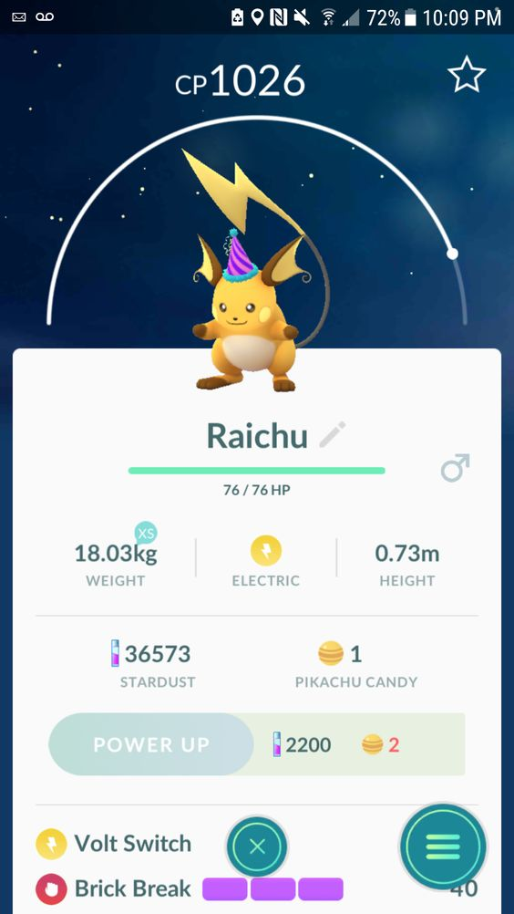 found a party hat pikachu nest in nyc during the event not