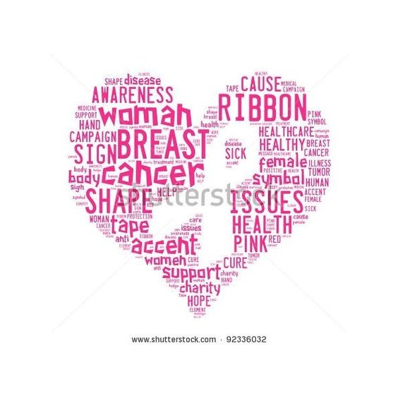 Breast Cancer ❤ liked on Polyvore