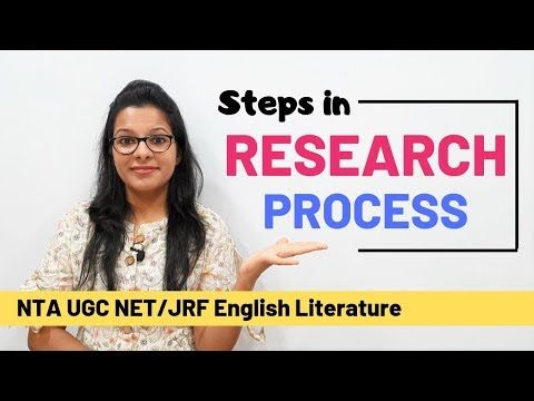 Steps In Research Process Quickest Easiest Explanation Ugc Net Youtube Research Paper Paper Writing Service Research Paper Introduction