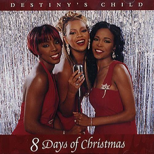 Destiny's Child – 8 Days of Christmas (single cover art)