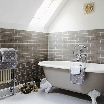 carrelage métro tiles salle de bain bathroom Salle de bain