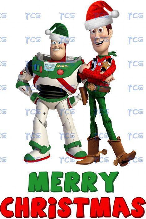 Toy Story Christmas : Toy story buzz lightyear woody merry christmas disney