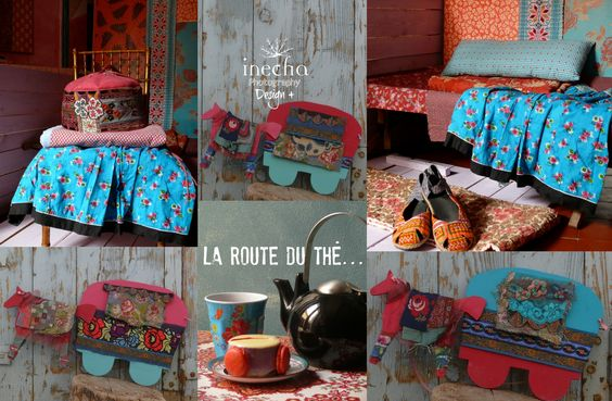 the tea road gipsy caravans on www.boutiqueenboheme.com