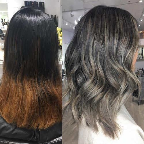 Picture Of Ash Blonde Highlights Ash Blonde Balayage Ash Blonde Highlights On Dark Hair Blonde Highlights On Dark Hair