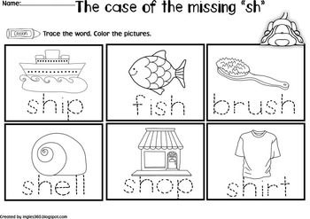 THE CASE OF THE MISSING DIGRAPHS - TeachersPayTeachers.com