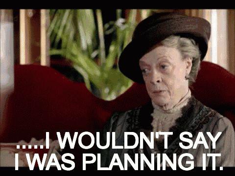 Planning it Downton Abbey