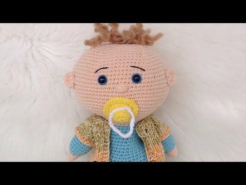Amigurumi hediyelik örgü biblo bebek yapılışı anlatımlı | Boncuk ... | 360x480
