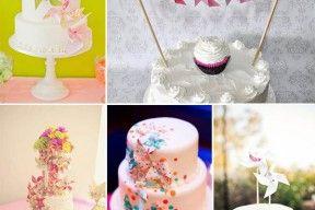 matrimonio girandole cake topper