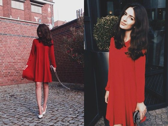 Katu Mikheicheva - Zara Red Dress - Redisation - FASHION ...