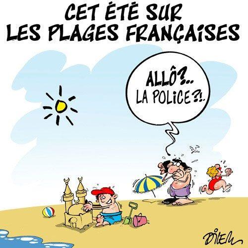 Dilem (2016-07-21) France: Cet été sur les plages françaises