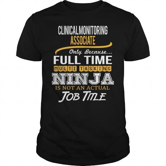 Awesome Tee For Clinical Monitoring Associate T Shirts, Hoodies. Get it here ==► https://www.sunfrog.com/LifeStyle/Awesome-Tee-For-Clinical-Monitoring-Associate-Black-Guys.html?41382 $22.99