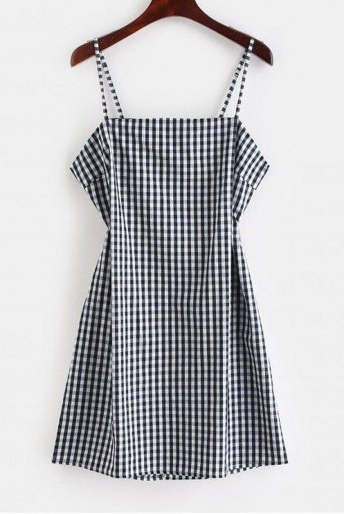 Gingham Print Summer Dresses Style Set 2 Gingham Mini Dresses For Summer The Untidy Closet Casual Dresses Casual Dresses For Women Fashion