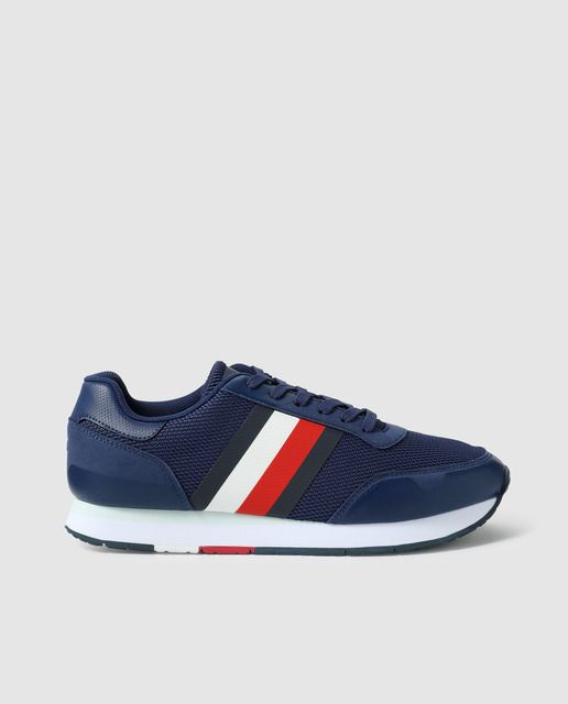 Opinión paracaídas promoción  Zapatillas deportivas de hombre Tommy Hilfiger de textil en color azul en  2020 | Zapatillas deportivas hombre, Zapatillas deportivas y Tommy hilfiger