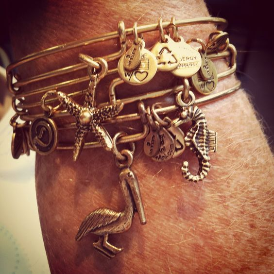 Alex and Ani bracelets. Silver please... Have the starfish!