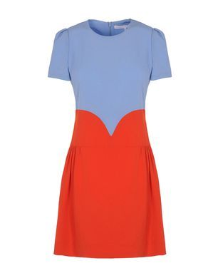 Short dress Womens - VICTORIA, VICTORIA BECKHAM.  New Mom Kate would look very youthful and modern in this dress for late Summer.